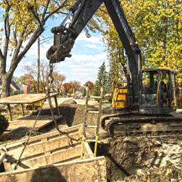 Sanitary Sewer Construction