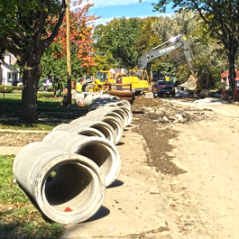 Storm and Sewer Construction