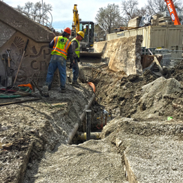 Water Main Construction