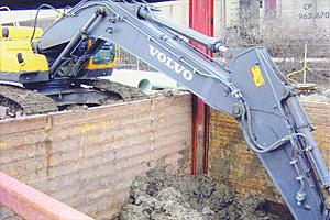 Volvo Digging